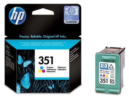 HP 351 Tri-Colour ink cartridge (CB337)