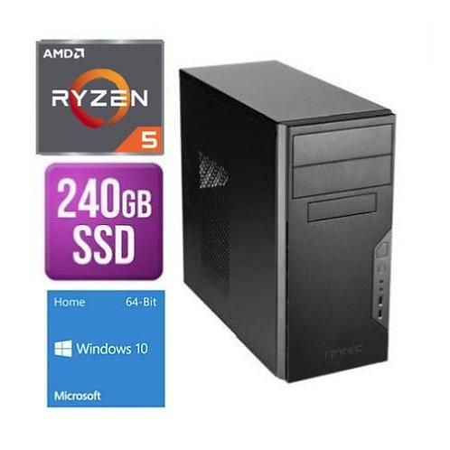 Spire Tower PC Antec VSK3000B Ryzen 5 3400G 8G