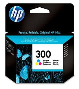 HP 300 Tri-colour Ink Cartridge (CC643EE)