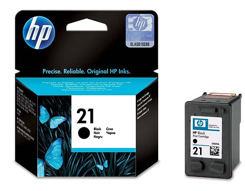 HP 21 Black Ink Cartridge (C9351AE)