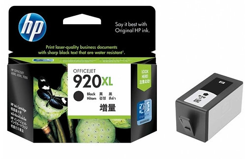 High Capacity HP 920XL Black Ink Cartridge (CD975AE)
