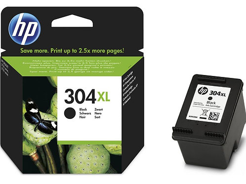High Capacity HP 304XL Black Ink Cartridge (N9K08AE)