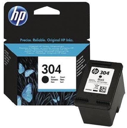 HP 304 Black Ink Cartridge (N9K06AE