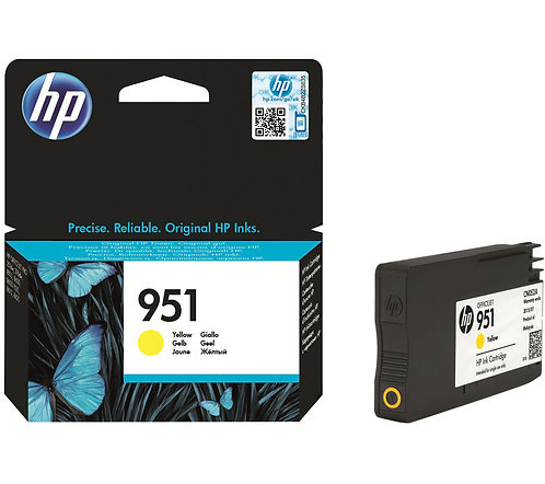 HP 951 Yellow Ink Cartridge (CN052AE)
