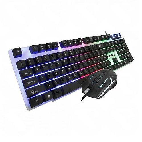 Jedel GK100 RGB Gaming Desktop Kit Backlit Membr