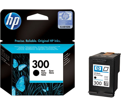 HP 300 Black Ink Cartridge (CC640EE)