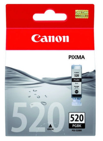 Canon Original PGi-520 Black Ink Cartridge (PGI-520BK)