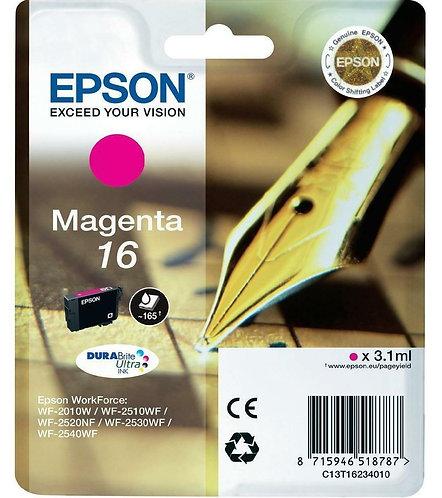Epson 16 Magenta Ink Cartridge (C13T16234010)