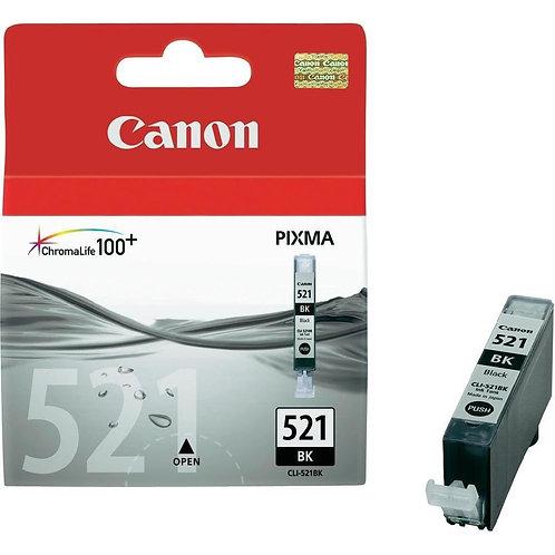 Black Canon CLi-521 Ink Cartridge (CLI-521BK)