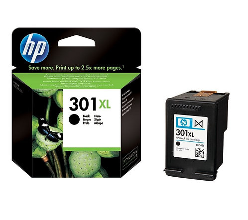 High Capacity HP 301XL Black Ink Cartridge (CH563EE)