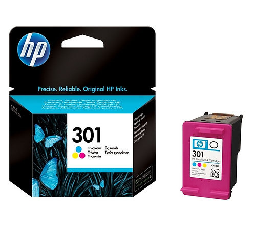 HP 301 Tri Colour Ink Cartridge (CH562EE)