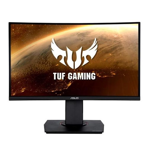 "Asus 23.6"" TUF Curved Gaming Monitor (VG24VQ) 19"