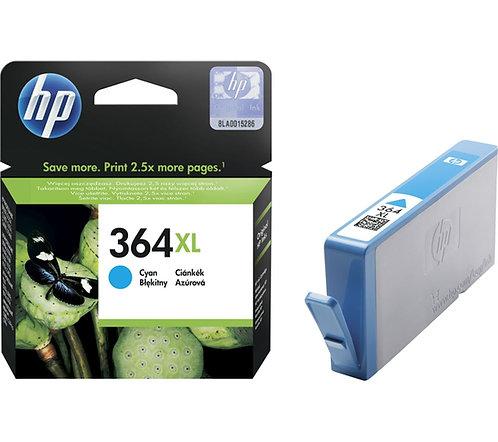 High Capacity HP 364 XL Cyan Ink Cartridge (CB323EE)
