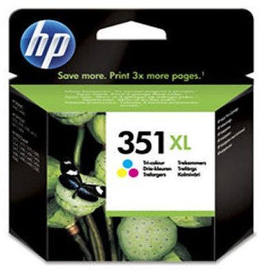 High Capacity HP 351XL TriColour ink cartridge (CB338)