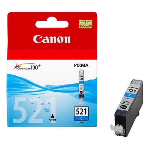 Cyan Canon CLi-521 Ink Cartridge (CLI-521C)