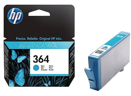 HP 364 Ink Cartridges Cyan (CB318EE)