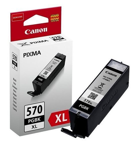 High Capacity Canon PGI-570XL Black Ink Cartridge (0318C001)