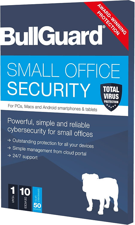 BullGuard 10 User 1 Year Small Office Security