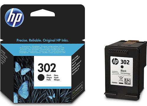 HP 302 Black Ink Cartridge (F6U66AE)