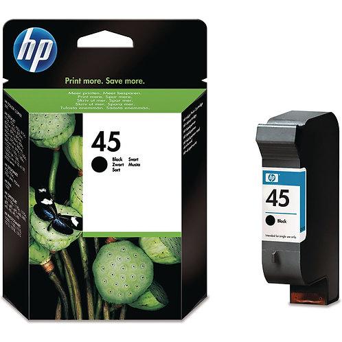 HP 45  Black Original Ink Cartridge ( 51645AE)