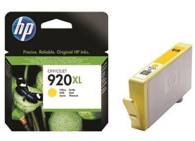 High Capacity HP 920XL Yellow ink Cartridge (CD974AE)