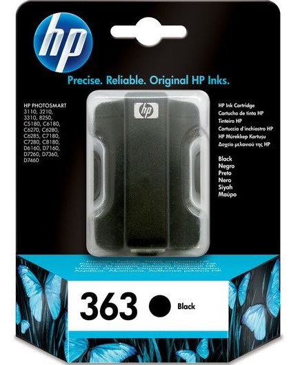 HP 363 Black ink cartridge (C8721EE)