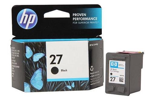 HP 27 Black Ink Cartridge (C8727AE)