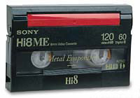 Hi-8 Video tape conversion