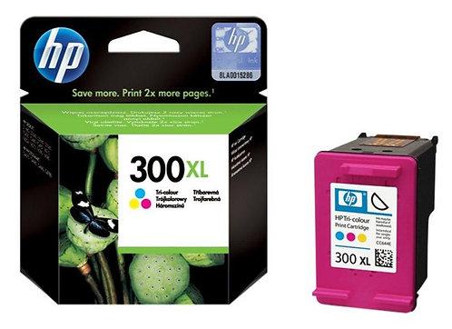 High Capacity HP 300XL Tri-colour Ink Cartridge (CC644EE)