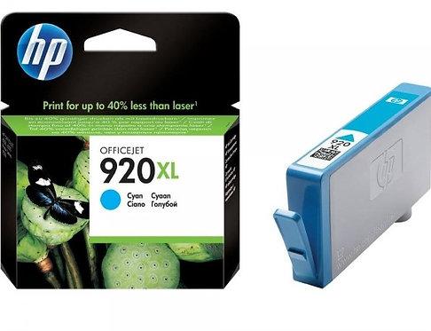 High Capacity HP 920XL Cyan ink Cartridge (CD972AE)