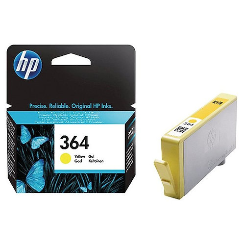 HP 364 Ink Cartridges Yellow (CB320EE)