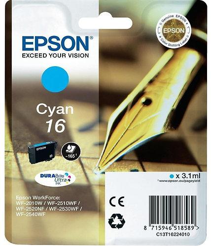Epson 16 Cyan Ink Cartridge (C13T16224010)