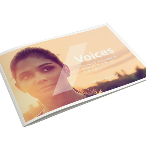 Printed presentation cover