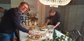 F.v. Jon, Christian og Petter
