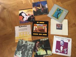 Spillelista fra eget bibliotek. I tillegg hadde Petter og Finn med egen Vinyl.