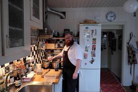 Vårfest hos Petter 02.04.2016 Kokken