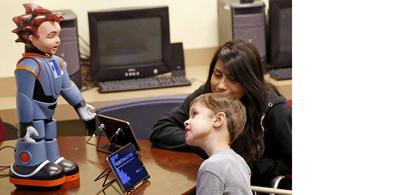 La technologie pour communiquer avec  les enfants autistes.