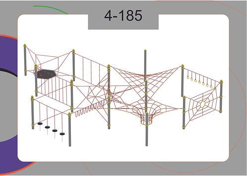 Канатная конструкция полоса препятствий 4-185