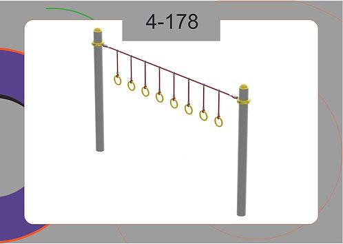 Канатная конструкция вершина 4-178