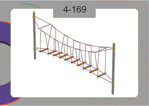 Канатная конструкция переправа 4-169