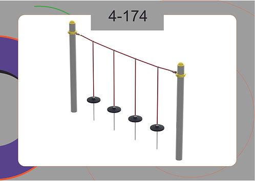 Канатная конструкция вершина 4-174