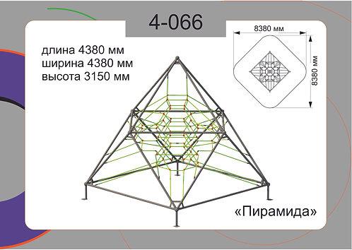 Канатная конструкция пространственные сетки 4-066