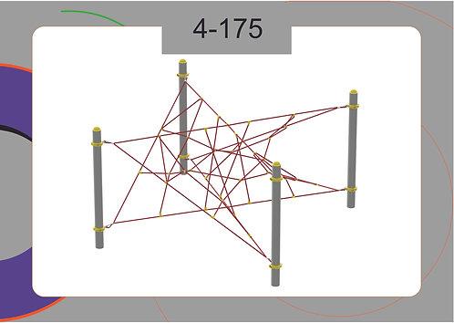 Канатная конструкция вершина 4-175