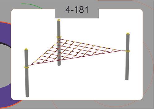 Канатная конструкция вершина 4-181