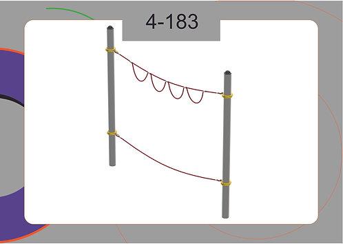Канатная конструкция вершина 4-183