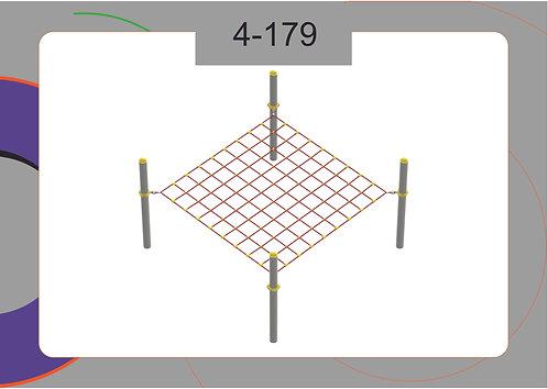 Канатная конструкция вершина 4-179