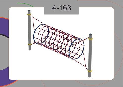 Канатная конструкция переправа 4-163
