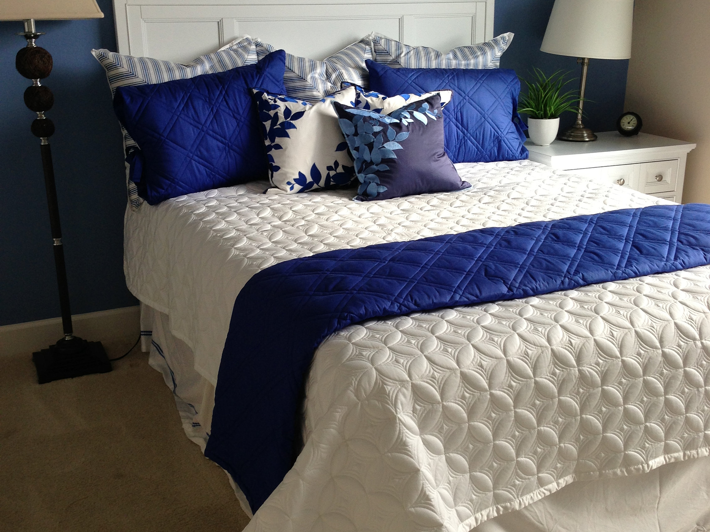 Cobalt blue window treatments - Your Window Covering Expert