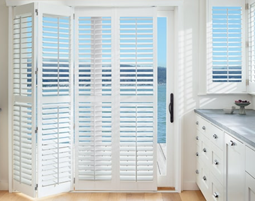 Palm Beach™ Polysatin™ Shutters   Color: Bright White