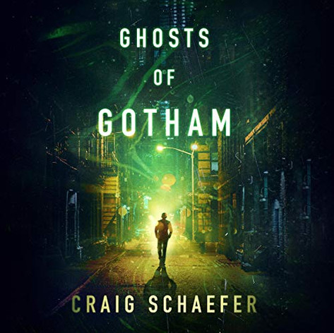 AudioFile Magazine Review: GHOSTS OF GOTHAM by Craig Schaefer | Read by Susannah Jones Fantasy • 14.5 hrs. • Unabridged • © 2019 Narrator Susannah Jones flawlessly delivers the variety of accents and meticulous vocal nuances that are part of this paranormal noir. Skeptic Lionel Page has spent his career as a reporter debunking supposedly supernatural scams that are meant to prey on the desperate and unfortunate. His background makes him the perfect man for the job of verifying a lost Edgar Allan Poe manuscript for wealthy heiress Regina Dunkle. In return, she will keep the details of his notorious past buried. Jones delivers Lionel's internal monologues in a style that sounds natural and captures his doubt when the world around him becomes more fantastic than he ever expected. In addition, Jones's smooth and sultry depiction of Regina invites the listener to question her motives while falling under her spell. A.K.R. © AudioFile 2019, Portland, Maine [Published: MAY 2019]